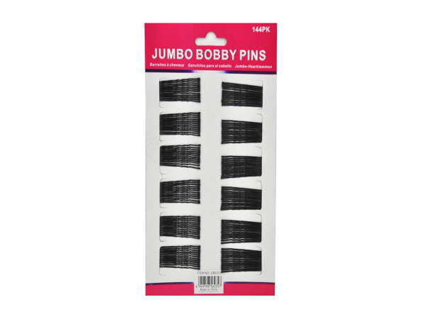 Bobby pins, pack of 144