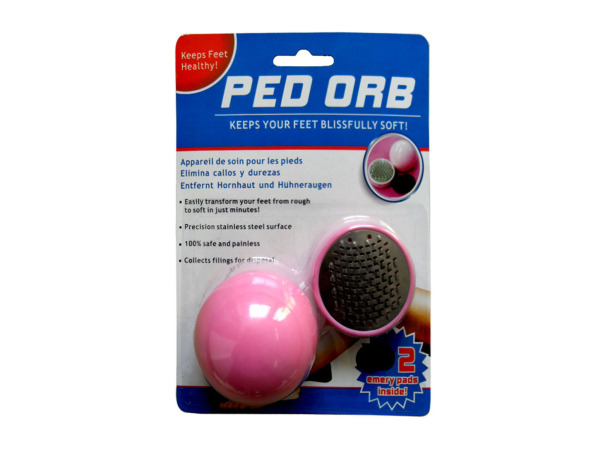 Ped Orb Foot Scrubber
