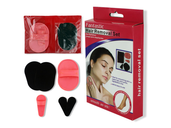 Hair removal set