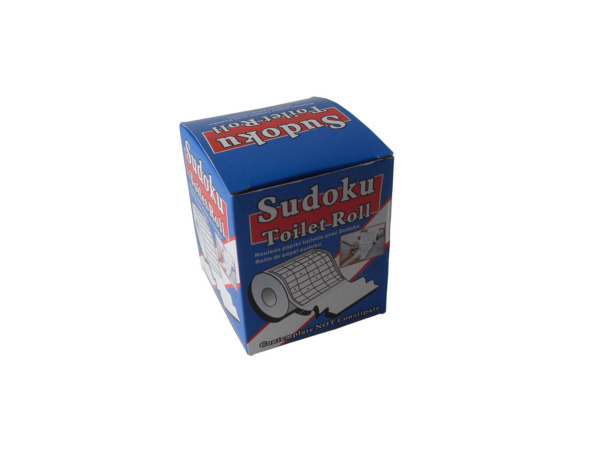 Sudoku toilet paper roll, 21 yards