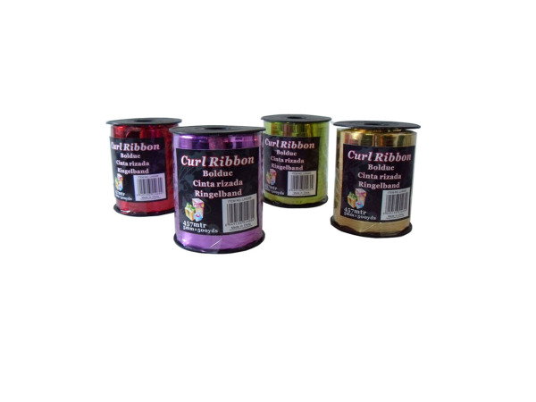Curling ribbon, assorted colors