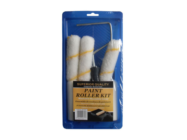 Paint roller kit, 6 pieces
