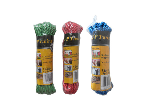 Colored twine, 13 yards