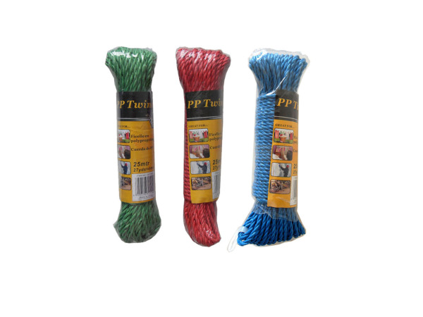 Colored twine, 27 yards