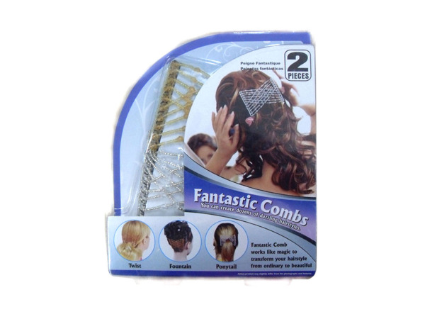 Fantastic hair combs, pack of 2