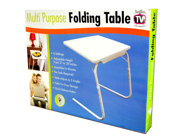 Multi-Purpose Folding Table