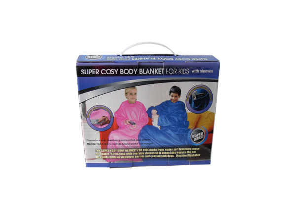 Kids' TV Blanket With Sleeves