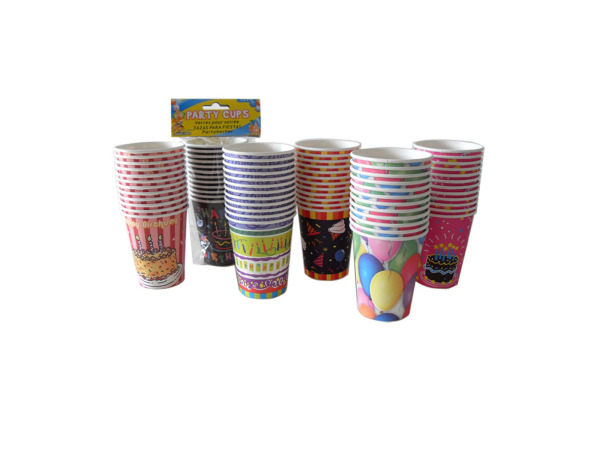 Party cups, pack of 12