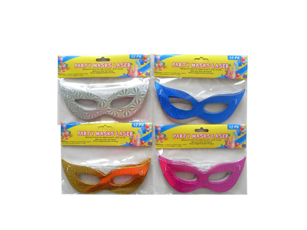 Party masks, 12 pack