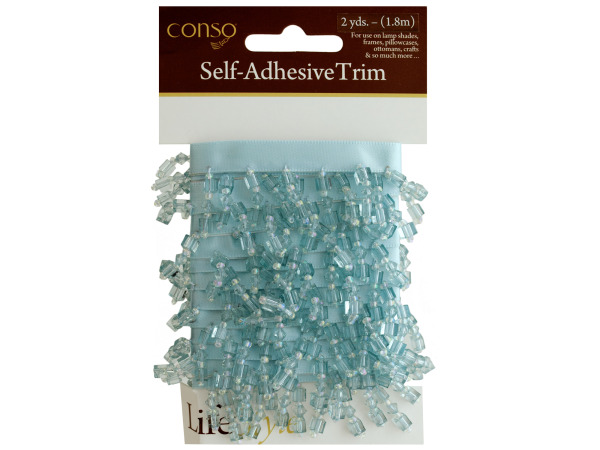 conso self adhesive trim with beads