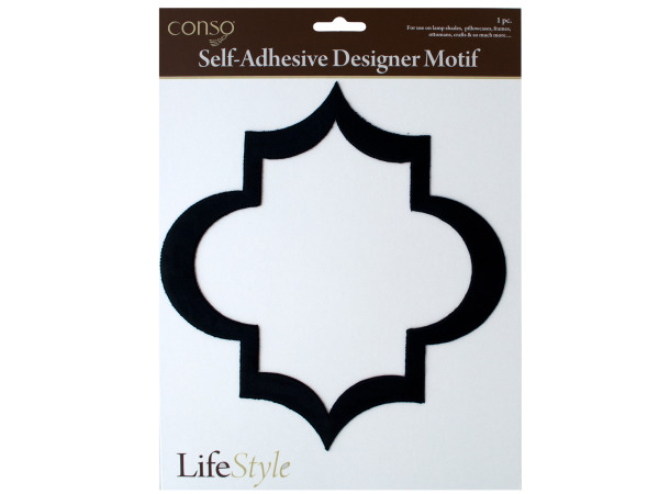 conso self adhesive motif geometric diamond
