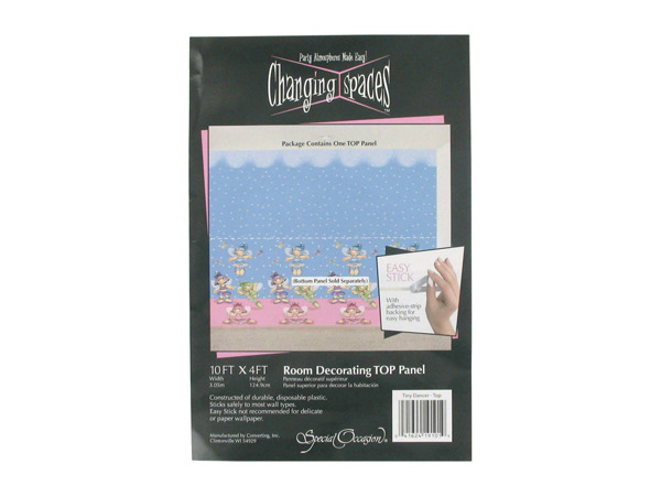 Tiny Dancer decorating panel, top panel