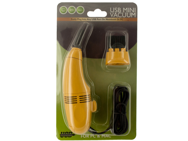 USB Mini Vacuum for PC and Mac with Attachments